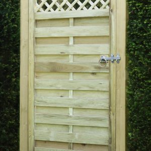 Horizontal lattice top gate 3ft x 6ft