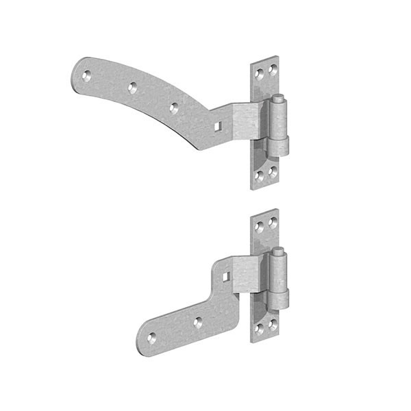 Curve Rail Hinges Kit (Right Handed)