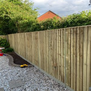 DIY Fencing Kit - Premium feather edge panel with DuraPost® System