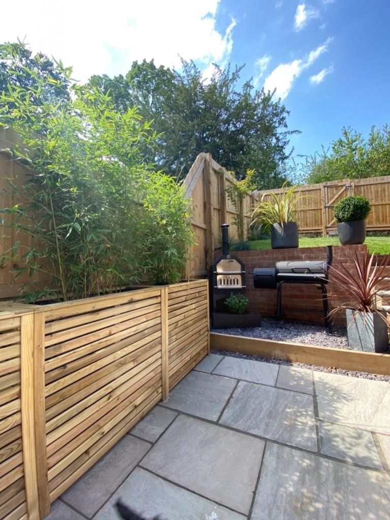 Tanalised and pressure treated timber