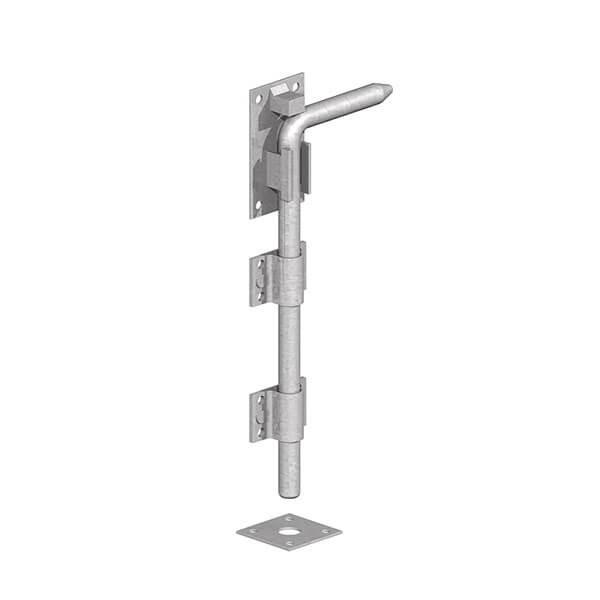 """GATEMATE® Garage Door Bolt, 12"""" / 300mm, Galvanised"""