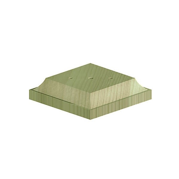 """FENCEMATE® Post Base for Wooden Finials for 3"""" (75mm) Posts"""