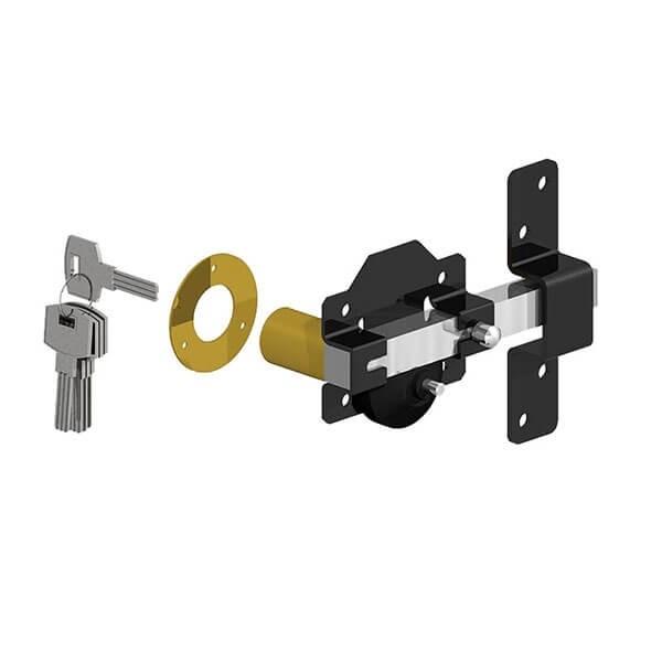 GATEMATE® Premium Long Throw Lock - Single Locking, 50mm